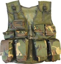 Kids Tactical Assault Vest in dpm camo