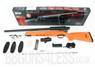 Double Eagle M50P BBGun Spring Sniper Rifle with Accessories in Orange