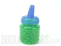 Ultrasonic bb pellets 1000 X 0.12 green in bottle