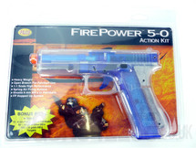 FirePower 5-0 Translucent Blue Action kit BBgun