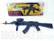 Kids Toy gun TD-2012 in Black