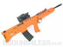 HFC ha2020b bb gun Spring Rifle with Scope in Orange