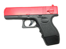 Galaxy G16 Full Metal Pistol BB Gun in Red - (new style)