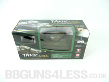 Radio Control Battle Tank in green That shoots