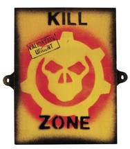 Kill zone Sign - Military Style Sign