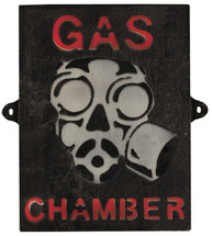 Gas Chamber Sign - Military Style Sign