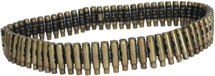 Bullet Belt with real Brass Rounds