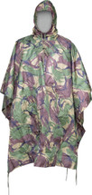 Waterproof Poncho US Style in DPM Camouflage