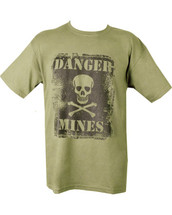Danger Mines T-Shirt