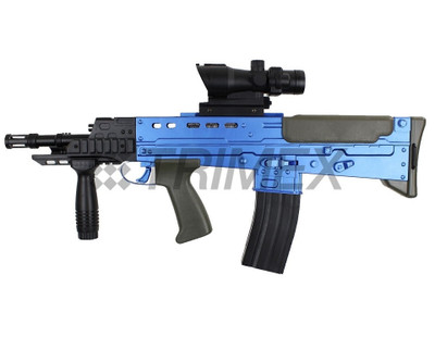 Vigor L86A2 Spring Rifle with Scope in Blue