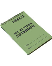 A6 Waterproof Army Notepad