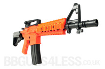 UHC UM 217 CQB Dual power AEG BB Gun Rifle