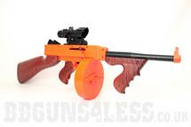 Vigor 8903A M1A1 Drum Mag Spring Rifle in Orange