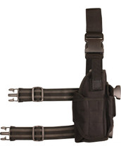 kombat US Tactical assault leg holster in black