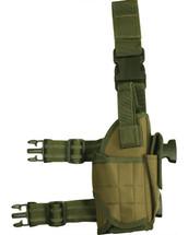 kombat US Tactical assault leg holster in green