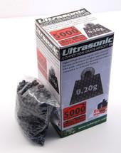 Ultrasonic bb pellets 5000 X 0.20g in black in a box
