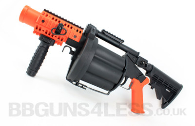 ICS 190 GLM Grenade Launcher in Orange/Black