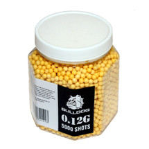 Bulldog BB pellets 5000 x 0.12g Tub in yellow