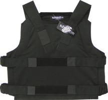 Kevlar panel vest in black
