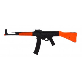 AGM MP44 Airsoft Electric Rifle with Wood Stock  in Orange/Black