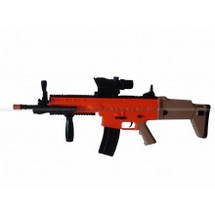 Vigor 8902A Scar Tactical Rifle in orange