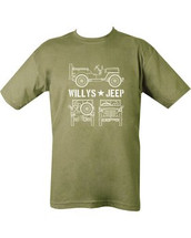 Willy's Jeep army T shirt