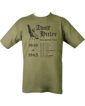 Hitler's European Tour T Shirt
