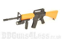 M16-A-103 rifle bb gun spring powerd