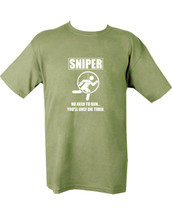 Sniper Die Tired T shirt