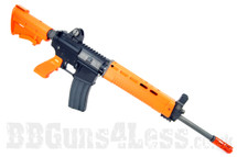 WE Tech T91 Gas BlowBack Airsoft Rifle in Orange