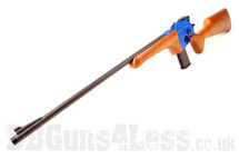 HFC HG-196LW Broom Handle Gas powered Rifle with wood fixed Stock