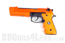 HFC HG193 bbgun airsoft pistol in two tone orange