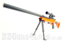 G22 Spring Sniper Rifle BB Gun with Scope and Bi pod