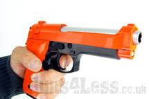 M92F1 Replica M9 Spring Pistol in Orange