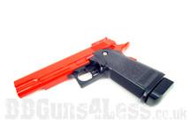 Cyma C6 A Full Metal Pistol BB Gun in red