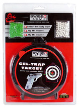 Swiss arms gel trap target with bb pellets