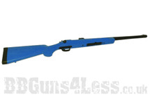 HFC VSR11 Spring Sniper Rifle with the adjustable hop-up in Blue