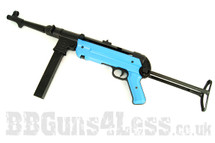 SRC SR40 MP40 replica fully auto in Two Tone blue