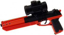 Double Eagle M39G Pistol BB gun with Red Dot Scope