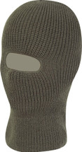 Open Face Balaclava - green