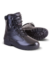 Army Patrol Boots All Leather for army cadets Military in black colour