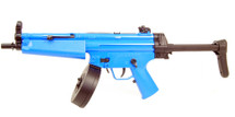 Well D95 Electric Drum Mag BB Gun in Blue