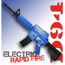 Well D94S Electric BB Gun in Blue