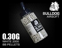 Bulldog bb pellets in white 0.30G x 2000 pc in speed loader