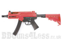 Galaxy G.5m Two Tone Electric Rifle in Red