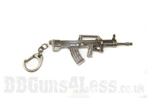 QBZ 95 Keyring in solid metal