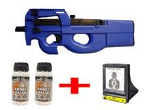 D90F Bundle deal includes 1 Rifle, 2 BB Pellets & 1 Net Target