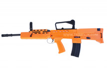HFC L85 SA 80 bb gun Spring Rifle in orange with carry handle