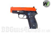 WE F226 Tactical S Series 226 replica Gas Blowback Pistol BB gun