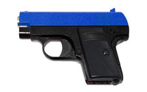 Galaxy G9 Colt 25 replica Full Metal Pistol in blue